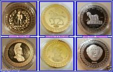 Gold Mixed Region Coins