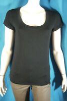 LA MODE EST A VOUS LMV Taille 3 - 40 Superbe tee shirt manches courtes noir T-sh
