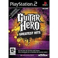 PLAYSTATION 2 PS2 JUEGO GUITAR HERO GREATEST HITS RAR NUEVO