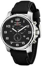 Sector Armbanduhren mit 12-Stunden-Zifferblatt