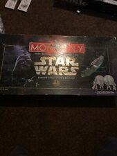 Monopoly Star Wars Limited Collectors Edition Complete