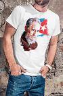 Fidel Castro RIP Men White T-shirt El Commandante Tee Shirt Cuba Tribute S-XXL