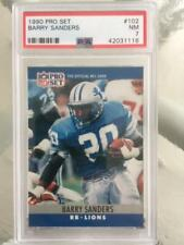 1990 Pro Set Barry Sanders PSA 7 card #102