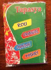 Roli,Chawal,Chandan,Mishri 2 Packs for Rakhi Ceremony USA Seller, Free Shipping