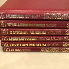 6 Volumes Newsweek Great Museums of the World Cairo Madrid Leningrad Tokyo Egypt