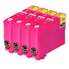 4 Magenta XL Ink Cartridge for Epson Expression Home XP-255 XP-342 XP-432 XP-452