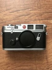 Leica M6 Classic Chrome 0.72 Film Rangefinder Camera