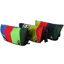 Green Guru Pedaler 17L Multi-Color Bike Messenger Bag, Made From Upcycled Fabric