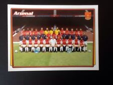 Merlin Football Sticker #004 2001-02 Arsenal Team Picture Mint Condition