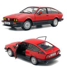Alfa Romeo GTV 6 1984 1:18 Voiture - Rouge