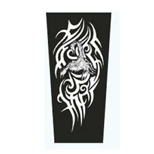 Nylon Stretchy Temporary Tattoo Sleeves Scorpion Printed Fashion Arm Stocking