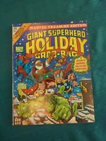 Giant Superhero Holiday Grab-Bag Treasury - Very Fine (8.0) Off-White Pages!!!