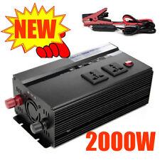 Car 2000W/4000W converter power inverter DC 12V to AC 220V-240V invertor USB*4