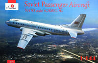 Amodel 1469 - 1/144 Tupolev Tu-104 Airliner, Aeroflot, scale plastic model kit