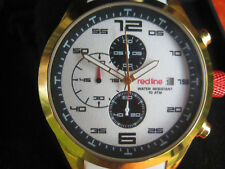 MENS WATCH RED LINE RL-50042-YG-02-WHT WHITE AND GOLD MULTI DIAL SUMMER WATCH