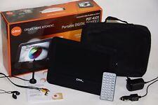 CMX PDT 4101 tragbarer DVD-Player portabel DVB-T Akku CD DVD SD MMC MS USB AV