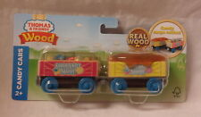 KKar Fisher Price - 2018/19 Thomas & Friends Wooden series - Yel&Pnk -Candy Cars