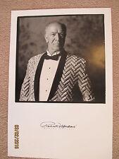 "Robert Mondavi Autographed 80th Birthday B&W poster  6/18/93 16"" x 23"""