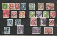 Dinamarca Valores Diversos del año 1935-41 (EY-338)