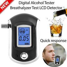 Digital Breath Alcohol Tester Lcd Breathalyzer Analyzer Detector Hot Us Stock
