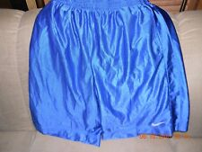 Pair of  Nike Men's Extra- Large Basketball Shorts  BLUE w/ Pockets