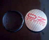 OZ Racing original Nabendeckel Nabenkappen Felgendeckel Silber Carbon 62mm NEU