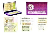 Marks of Catastrophe:German Hyperinflation,12 Banknote Collection & Display Book