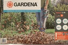 GARDENA Akku Gartensauger- bläser 9338-55 Ohne Akku & Ladegerät Neu