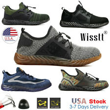 Men Safety Work Shoes Steel Toe Boot Indestructible Lightweight Sports Sneakers