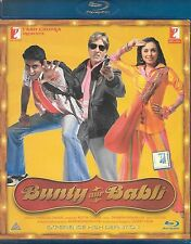 BUNTY AUR BABLI-ABHSHEK BACHAN SUPER HIT NEW BOLLYWOOD BLU RAY DVD -FREE UK POST