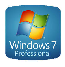 New Windows 7 Professional SP1 64 Bit Full Version DVD COA & Pro Disc Key w Hdwr