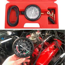 Carburetor Carb Valve Fuel Pump Pressure And Vacuum Tester Gauge Test Tool Kit