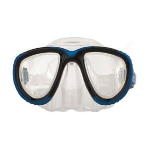 Sherwood Eclipse Scuba Diving Low Volume Silicone Dive Mask Blue CLOSEOUT