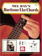 Mel Bay's Baritone Uke Chords Learn to Play Present Gift MUSIC BOOK Ukulele
