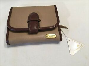 """Liz Claiborne Brown tone Tri-fold Wallet - Small 4.5"""" x 4""""  New with tag"""