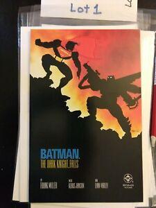 1986 DC Comics Batman The Dark Knight 4 Falls 1st Print (NM- 9.2)