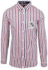 """VAN SANTEN & VAN SANTEN Hemd Shirt Langarm Größe L 42 16.5"""" SLIM FIT Gestreift"""