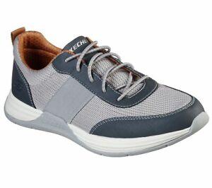 Men's Skechers Evano Neslo Spo Casual Shoes, 210038 /LTGY Multi Sizes Light Grey