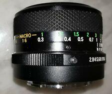 Soligor 28mm MC F2.8  C/D Prime Lens Manual Focus to fit Konica
