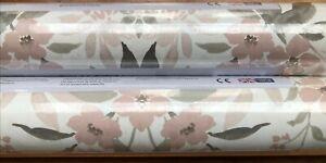 3 x Laura Ashley 'Juliette Dark Blush' Wallpaper  Same Batch W103990-A1
