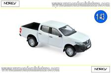 Renault Alaskan Pick-up Van 2017 White  NOREV - NO 518398 - Echelle 1/43
