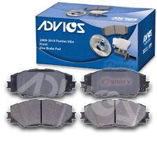 ADVICS Front Disc Brake Pad Set for 2009-2010 Pontiac Vibe  - Braking Tire sk
