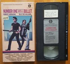 Number One With A Bullet VHS Robert Carradine