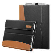For Microsoft Surface Pro 7 6 5 4 3 Multi-Angle Case Business Cover with Pocket