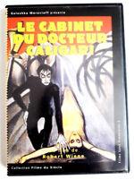 Le cabinet du Dr CALIGARI - Robert WIENE - dvd comme neuf