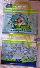 ~ Toy Story - GENUINE LARGE CARRY TOY FIGURE BAG BOOK SCHOOL