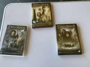LORD OF THE RINGS: 3 DVD SET