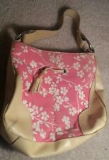 Vintage Bath and Body Works Cherry Blossom Pink Zip Top Purse