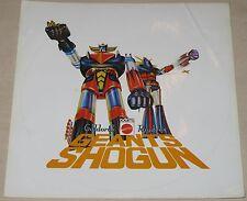 Autocollant / Sticker Goldorak Raydeen Geants Shogun Mattel