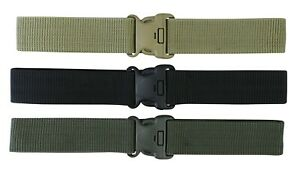 Army Belt Military Tactical SWAT Security SAS Force Cadet Combat Trouser Webbing